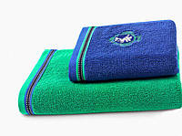 Soft cotton банное полотенце PEGASUS 75X150  зеленый