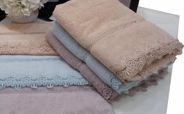 Soft cotton лицевое полотенце VICTORIA 50х100 pudra. пудра