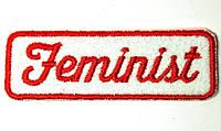 Нашивка патч Feminist