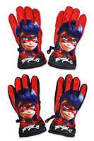 Болоневые перчатки для девочек оптом, Disney, 7-12 лет,  № 800-514