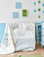 Детский плед в кроватку Karaca Home Moon 100*120