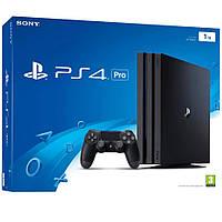 Sony PlayStation 4 Pro 1TB Jet Black (CUH-7016B)