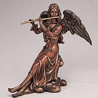 """Статуэтки Veronese под бронзу """"Ангел с флейтой"""" 20 см."""