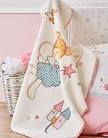 Детский плед в кроватку Karaca Home Peri 100*120
