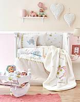 Детский плед в кроватку Karaca Home Playmate 100*120
