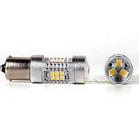 Супер яркие led лампочки с увеличительным стеклом на поворотники, габариты Carlamp G21-Series P21W 4G21/7443