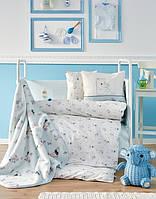 Детский плед в кроватку Karaca Home Woof 100*120