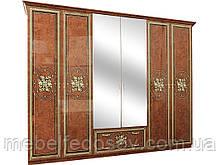 Шкаф 6Д Жасмин  (Світ меблів) 2755х625х2225мм