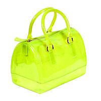 Сумка силиконовая Candy bag МАЛЕНЬКАЯ зеленая