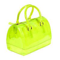 Сумка силиконовая Candy bag БОЛЬШАЯ зеленая