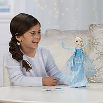 Кукла Дисней Холодное сердце Эльза запускающая снежинки рукой, фото 3