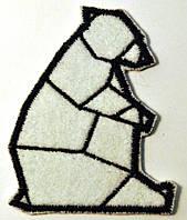 Нашивка патч Белый Медведь
