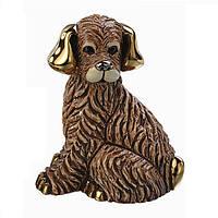Статуэтка керамическая DeRosa - Пёс коричневый