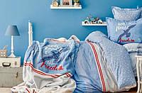 Постельное белье ранфорс Karaca Home Freedom подростковое
