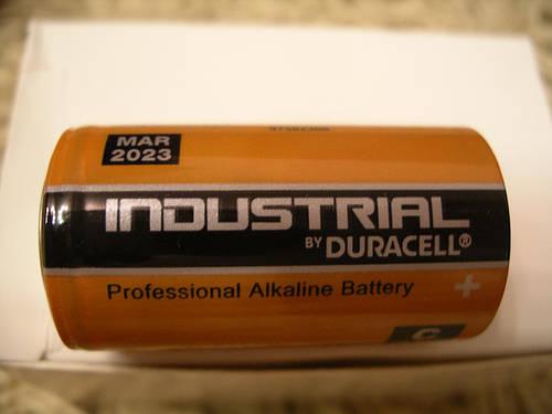 Duracell Industrial LR14, C щелочная батарейка