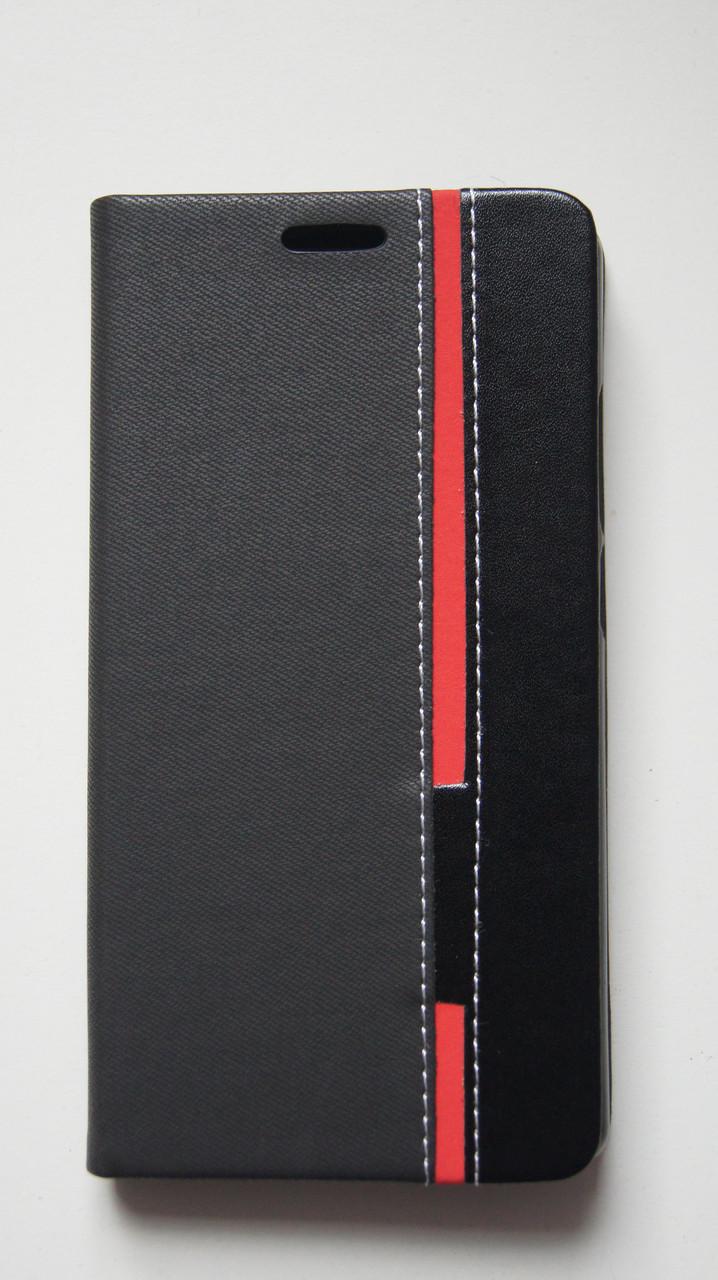 Чехол книжка для Doogee Mix черный
