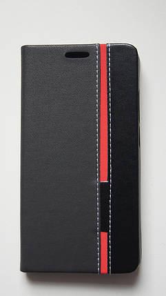 Чехол книжка для Doogee Mix черный, фото 2