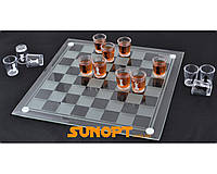 Алко игра шахматы (40 х40см) №086м