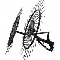 Сінограбка сонечко 2 (2 колеса), грабли ворошилки до мотоблока