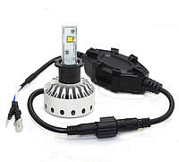 H3 Mini Size LED Headlight Premium Short (5000Lm) CREE-XHP50+Canbus Function