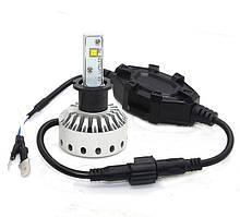 H3 Mini Size LED Headlight Premium Short (5000Lm) CREE-XHP50+Canbus Function