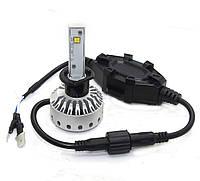 H1 Mini Size LED Headlight Premium Short (5000Lm) CREE-XHP50+Canbus Function