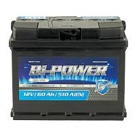 Аккумулятор 60 Аh, 12V  Euro BI-Power