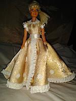 Бальное платье на Барби.