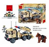 Конструктор BRICK 822 военная машина 310 деталей