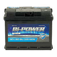 Аккумулятор 60 Аh, 12V  BI-Power