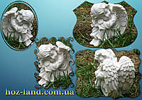 Скульптура из мрамора Ангел грустит №16 (белый мрамор)