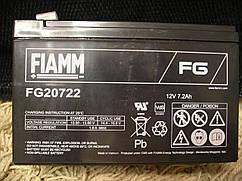Аккумулятор FIAMM FG 20722 (20721) 12V 7.2Ah