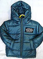 "Теплая  детская зимняя куртка ""Star"" унисекс р. 92-116, фото 1"
