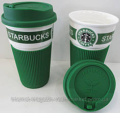 Термокружка Starbucks-1 (зеленый, коричневый, черный)