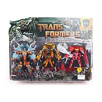Трансформер 5035 TF3 шт (1в-робот+машинка, 2в-робот+дракон), 16 см