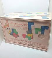 """Деревянный констуктор головоломка для развития Методика Никитиных """"Кубики для всех"""""""