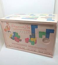 """Деревянный констуктор головоломка Методика Никитиных """"Кубики для всех"""""""