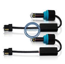 Комплект ламп 7440 T20 (W21W) (800Lm) Blueseatec Canbus universal led light kits