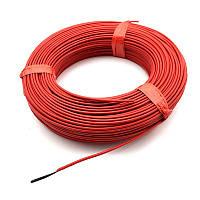 Электронагревательный провод, 30 м, карбоновый провод, углеродный провод 12К 33 Ом KAIZEN TEPLO,  KTR33