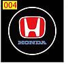Светодиодные проекторы HONDA в дверь 4-го поколения shadow light MC-04