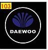 Светодиодные проекторы DAEWOO в дверь 4-го поколения shadow light MC-04