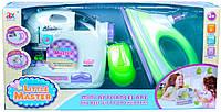 Игровой набор: утюг, швейная машинка со свето-звуковыми эффектами