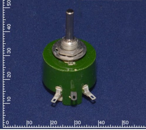 Резистор ППБ-3А 10 кОм±5% переменный, проволочный, регулировочный