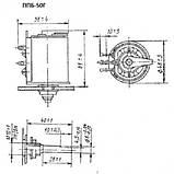 Резистор ППБ-50Г13 33 Ом±10% переменный, проволочный, регулировочный, фото 3