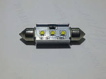 """Светодиодная CANBUS автолампа  FT10 (41mm) (150 Lm) с """"обманкой"""" Samsung LED chip SMD2323"""