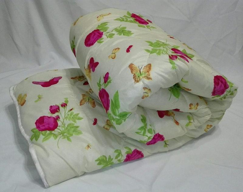 Двуспальное одеяло на овчине Код дво1