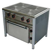 Плита электрическая 4-х конфорочная с жарочным шкафом