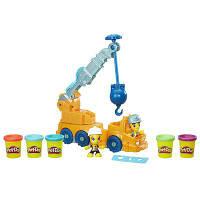 Пластилин Play-Doh (Плей до) строительный кран Town Power Crane Playset