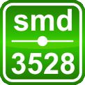 Белая 9,0W SMD3528 (120 LED/м) 7110-7700K (waterproof) IP68 Rishang Premium, фото 4