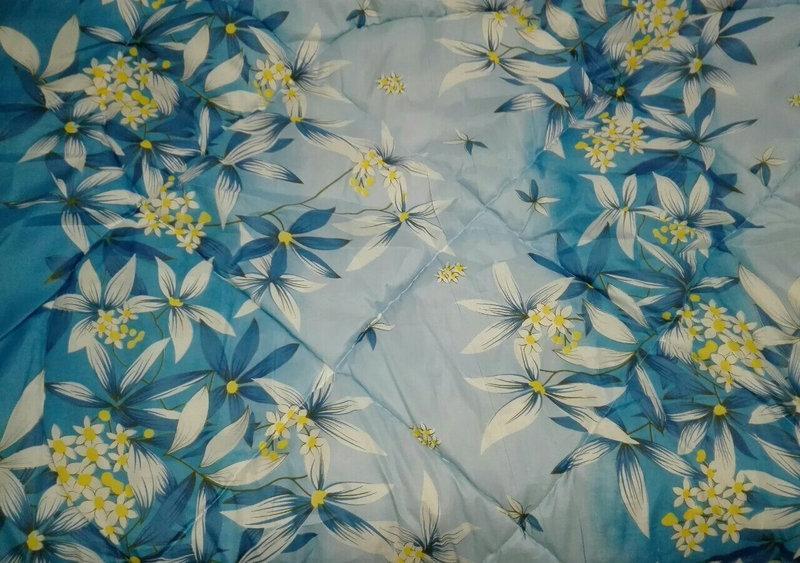 Двуспальное одеяло на овчине Код дво9